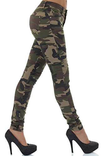 Multicolore Mehrfarbig Mehrfarbig Skinny Jeans malucas Femme tqv66Z