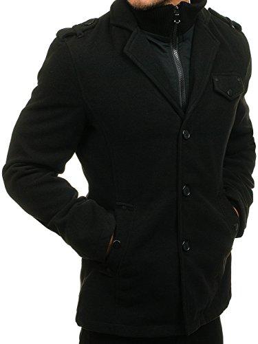 Abrigo De 8853 Invierno BOLF Negro MIX Hombre E4cywqq5f