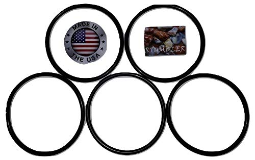 National Geographic Tumbler Replacement Drive Belt 5 Pack ()