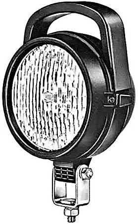 Anbau HELLA 1G3 005 760-021 Arbeitsscheinwerfer 5760 f/ür weitreichende Ausleuchtung 12V//24V rund