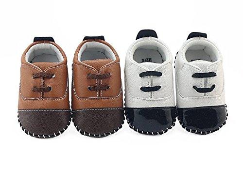 OHmais Kinder Baby Jungen Baby Mädchen Baby Kleinkind Schuh Schwarz