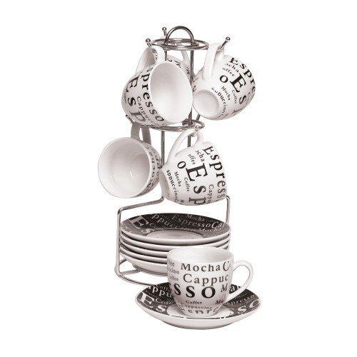vertical coffee cup rack - 9