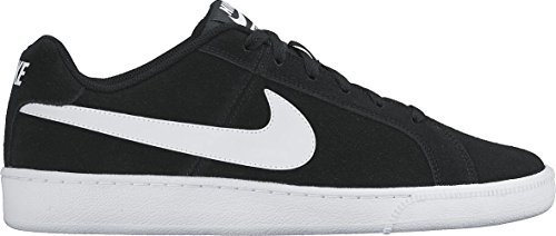 NIKE Men's Court Royale Suede Shoes Black/White - Sunglass Case Nike