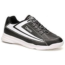 Dexter Jack II Wide Bowling Shoes, Black/White, Size 9.0