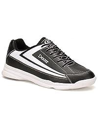 Dexter Jack II Wide Bowling Shoes, Black/White, Size 8.5