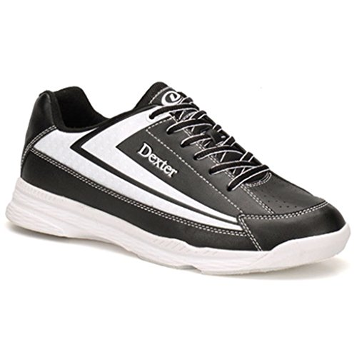Dexter Men's 9 Jack 9, Black/White, Size 9.0
