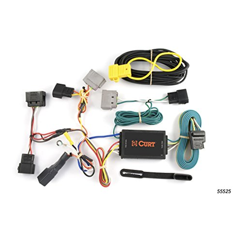 CURT 55525 Vehicle-Side Custom 4-Pin Trailer Wiring Harness for Select Ford Windstar