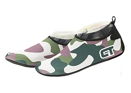 Neoprene Adult Fortuning's Socks Yoga Camouflage Pool Barefoot Shoes Swim Water Skin JDS Green Dark Water Durable Aqua Surf Beach Sole Sports For fqIw4qr5