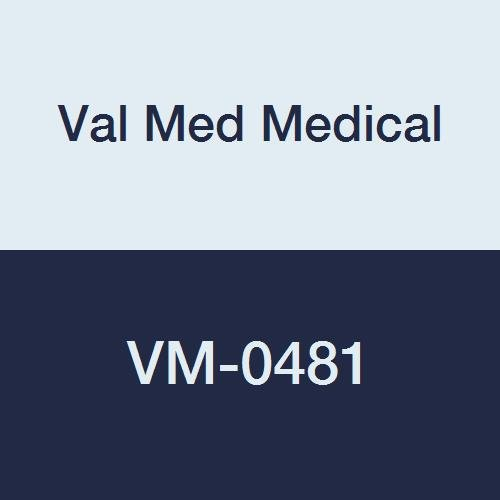 Val Med Medical VM-0481 Comfort Plus Round Foam Only, 2'' width, 9'' Length, Density 1.2 (Pack of 12)