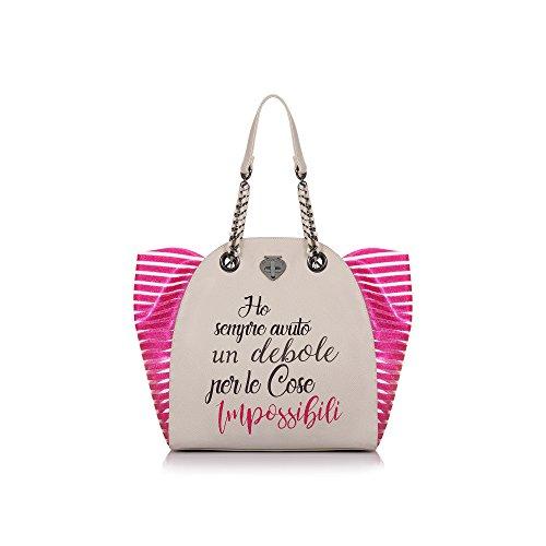 Borsa Donna grey Le Shopping Pandorine Glitter Pe18daf0216523 Impossibili Classic v5WFqAZx6w