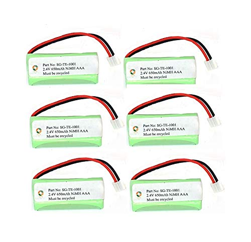 - SPS Brand 2.4V 650mAh Replacement Battery for Plantronics Calisto Pro (6 Pack)