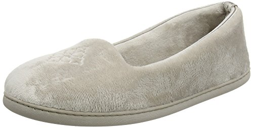 Dearfoams Closed Back - Pantuflas Mujer Silver (Pewter)
