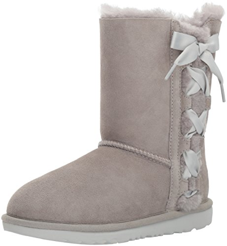 UGG Girls K Pala Pull-on Boot, Grey, 5 M US Big Kid by UGG