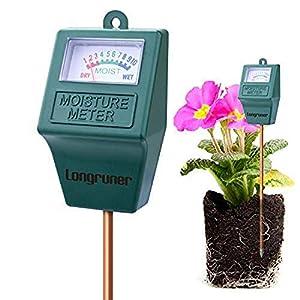 Indoor/Outdoor Soil Moisture Sensor Meter,Soil Water Monitor, Hydrometer for Garden, Farm, Lawn Plants