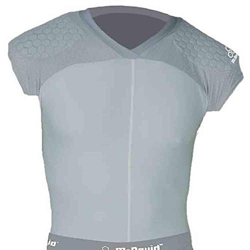 Mcdavid Classic Logo 7864 HexPad Shell Shirt Gray Medium