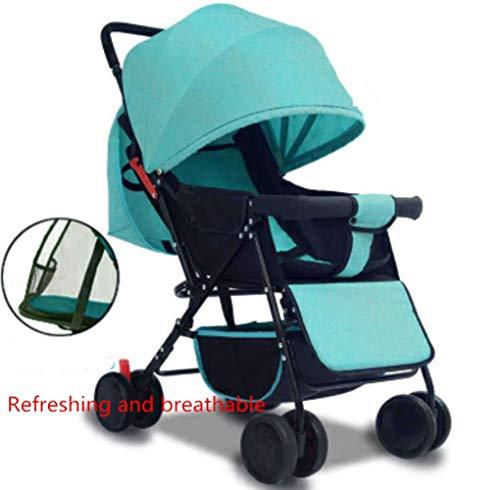 842 Three Light - DDPP Baby Stroller Lightweight Folding Trolley Stroller,3