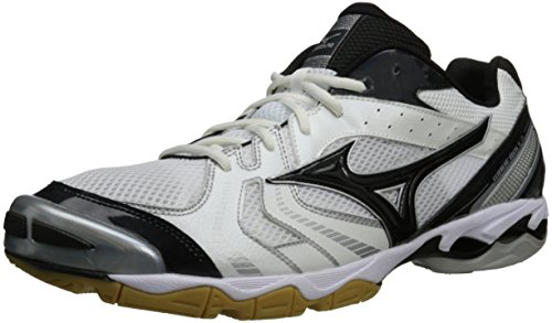 Mizuno Men's Wave Bolt 2 Volleyball Shoe,White/Black,7 M US