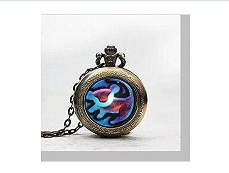 Il re leone ciondolo orologio da tasca gorgeous disney gioielli