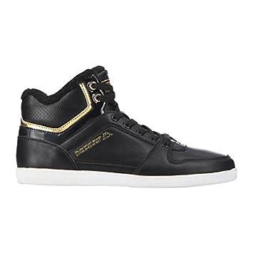 c2d72e548205fe Kappa Chaussures pour Femme ussel Fur Mid - Noir/Or 36: Amazon.fr ...