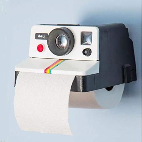 Onefa 1x Retro Camera Shaped Toilet Tissue Paper Roll Holder