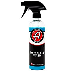 Adam's Waterless Car Wash 16oz - Made With Advanced Emulsifiers & Special Lubricants - Eco-friendly Waterless Car Washing With No Hoses, No Water, No Messes