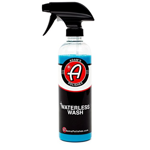 Adam's Waterless Car Wash 16oz - Made with Advanced Emulsifiers and Special Lubricants - Eco-Friendly Waterless Car Washing with No Hoses, No Water, No Messes (16oz)