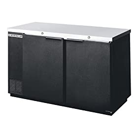 Beverage-Air 59″ Black Refrigerated Backbar Storage Cabinet