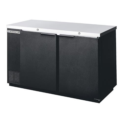 Beverage Air BB58-1-B Standard Depth Back Bar Cooler in Black