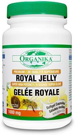 Organika Premium Royal Jelly 1000MG, 90 SFTGEL