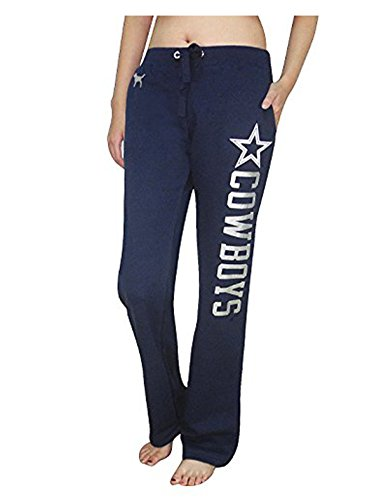 Womens Pink Victoria's Secret NFL DALLAS COWBOYS Lounge / Pajama Pants S Dark Blue