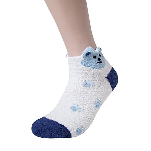 fuzzy thermal socks - 6