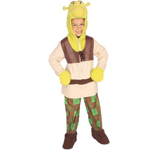 [Shrek Child Toddler Deluxe Shrek 3 Costume] (Shrek Costume For Toddler)