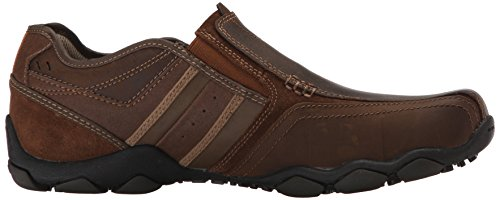 Skechers Diameter Zinroy, Mocassins Homme, Marron, US 13 2E|UK 12|EU 47.5