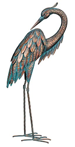 Regal Art & Gift Patina Heron Preening, 25