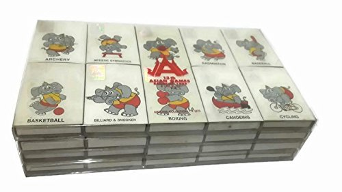 Limited Edition Asian games 13th Bangkok Thailand 1998 Match box for Collectors - 40 boxes (Harry Potter Board Game Lego)