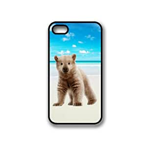 Hipster Beach White Bear iPhone 4 Case - Fits iPhone 4 & iPhone 4S