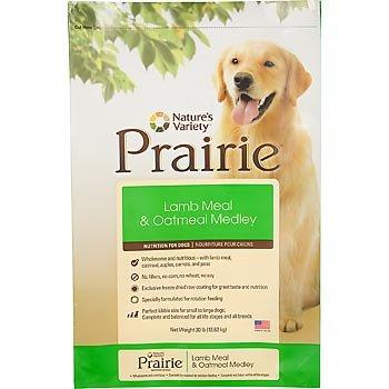 Natures Variety Prairie Lamb Dry Dog Food 30 lb, My Pet Supplies