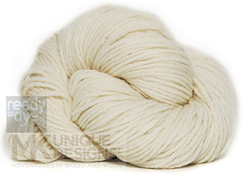 Undyed Ready to Dye Worsted Weight (Natural Yarn Dyes)