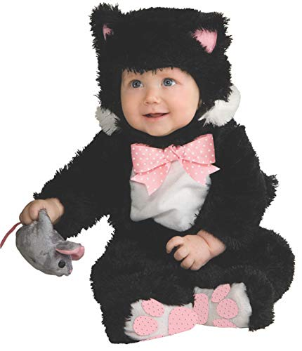 Rubie's Baby Inky Black Kitty Costume Jumpsuit, 6-12 Months, ()