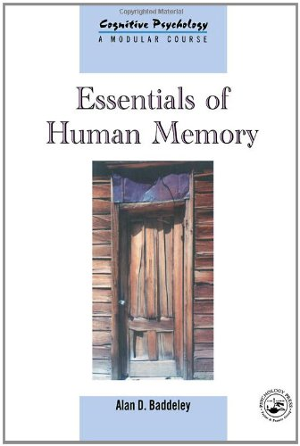 Essentials of Human Memory (Cognitive Psychology, 1368-4558) (Volume 11)