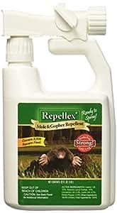 Repellex 10505 1-Quart RTS Mole, Vole and Gopher Repellent