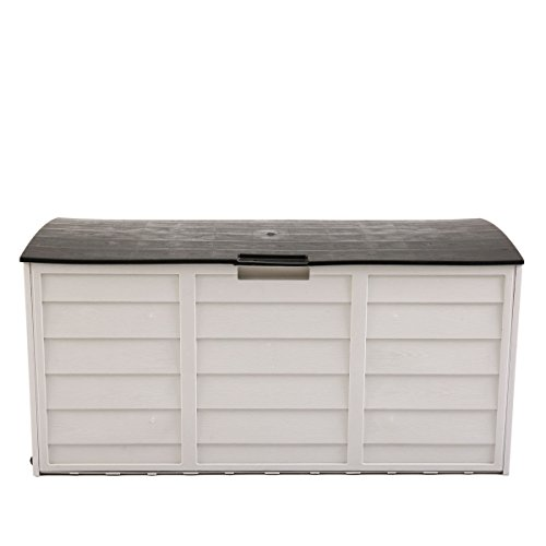 JAXPETY 79 Gallon Outdoor Garden Storage Shed Patio Garage Tool Box Backyard Deck Cabinet by JAXPETY