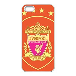 Liverpool Logo iPhone 5 5s Cell Phone Case White xlb-260327