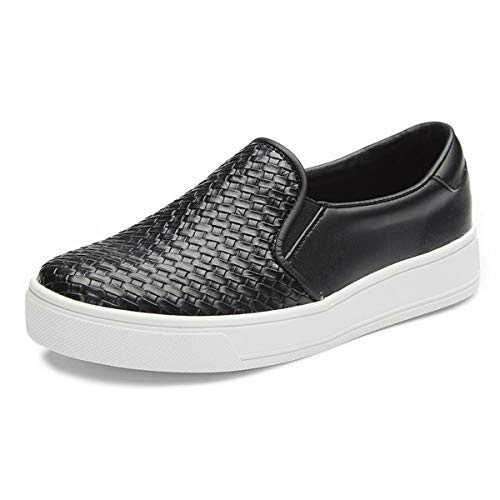 - INTENSE by ELCANTO Woman's Slip-ons. Made in Korea Black