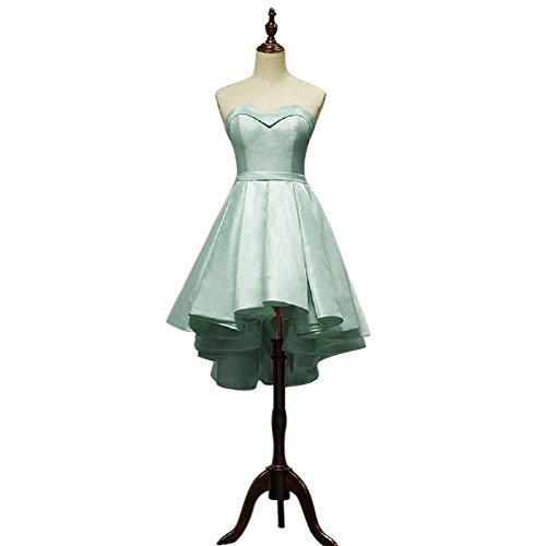 Mint Dress Sleeveless Sexy Cocktail Strapless BessWedding Tulle with Dresses Party agYHq