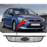 Trade Vehicle Parts FD1249 Front Grille Main Centre Black Compatible With Focus 2008-2012