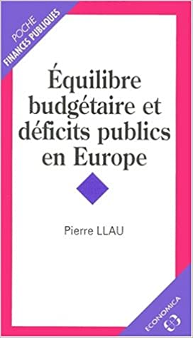 Télécharger en ligne Equilibre dudgetaire et deficits publics en europe pdf, epub