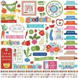 Photoplay Paper WC9141 What's Cooking Stickers ()