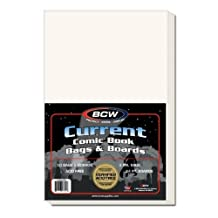 Ultimate Comic Book Collectors Package of 500 BCW Current Comic Book Bags and Boards! by BCW