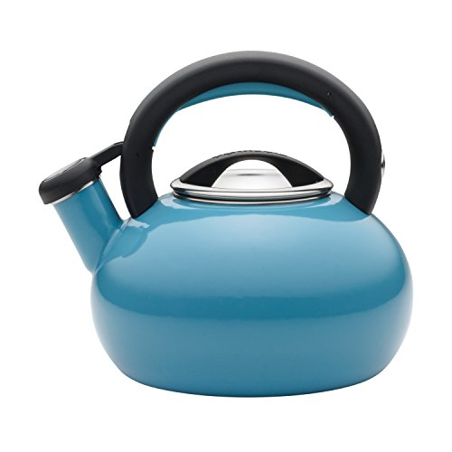 whistling tea kettle turquoise - 7
